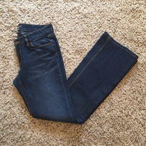 Ann Taylor LOFT Curvy Boot Jean size 6!